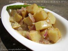 zemiaky v kokosovom mlieku (Kerala styl)