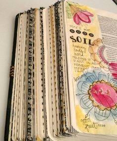 Bible Art Journaling/Good Soil/Sue Carroll