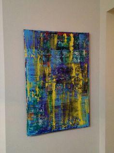 24x36 Modern Abstract Acrylic.