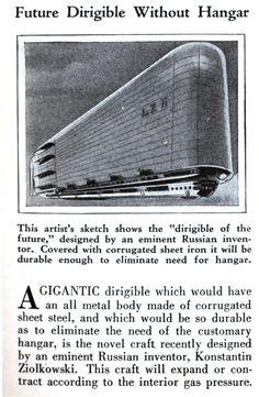 The Airship and Futurism: Utopian Visions of the Airship