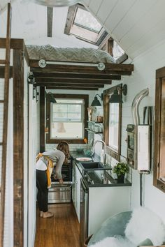 If you've always wanted to live in a home so tiny it fits on a trailer, but were loathe to give up your dream of a gourmet kitchen, you're in luck. Portland makers Tiny Heirloom have jumped into the tiny home business, but they're making fancy tiny homes.