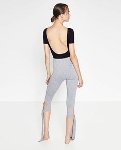 CROPPED BOW TROUSERS - Available in more colours
