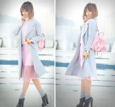 grafea mini backpack, galant girl, pink skirt outfit,