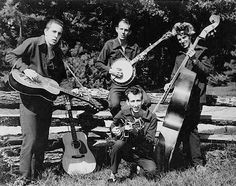 """Did you know that the beloved bluegrass band The Darlings on """"The Andy Griffith Show"""" were actually a successful band on their own? Meet The Dillards. Play That Funky Music, Kinds Of Music, The Dillards, Western Holsters, Americana Music, Mountain Music, Bluegrass Music, Billboard Hot 100, Country Music Singers"""