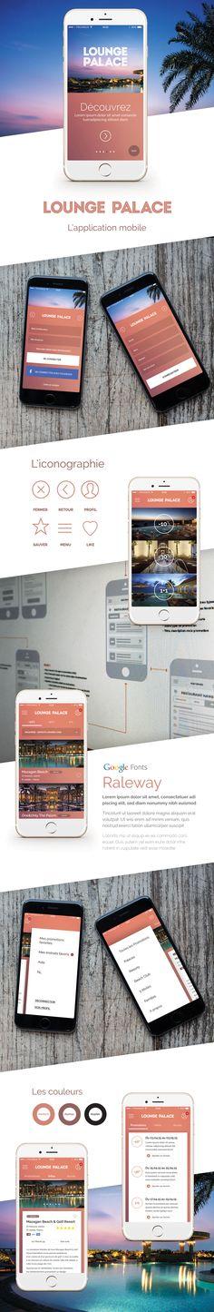 Lounge Palace Mobile app on Behance