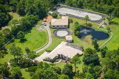 Equestrian Estate with outdoor dressage arena