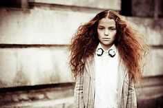 thought you might like the hair :)  editorial shot for La Petite