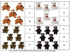 Teddy Bears Count to 20 Count and Clip task cards provide a math fine motor activity for students in Preschool, Kindergarten and Special Education classrooms. This set contains 20 task cards. You may use them for Math Centers. early finishers, morning work, non verbals or in your emergency sub plans.