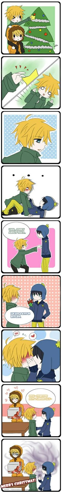 Tweek x craig southpark anime