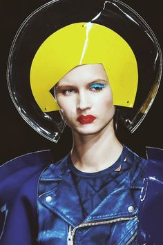 Isamaya Ffrench for Junya Watanabe SS15 Ready To Wear