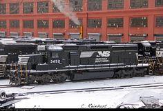 RailPictures.Net Photo: NS 3452 Norfolk Southern EMD SD40-2 at Altoona, Pennsylvania by D. Collin Reinhart