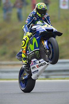 Valentino Rossi gás!!! Gás!!!
