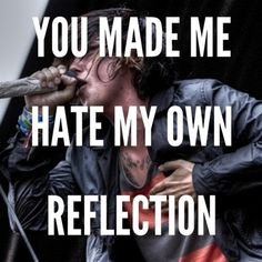sleeping with sirens lyrics | Tumblr Crazy how most of his lyrics, i can relate to...