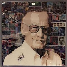 #ElisabettaFantone Elisabetta Fantone: Signed by the #legend himself! @therealstanlee #StanLee #portrait #art #comics #bcc #marvel