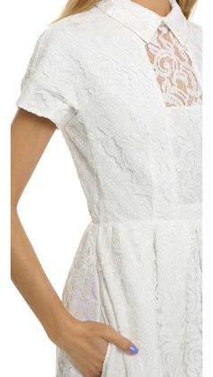 Carven Lace Gown