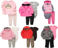 Warm, cozy and adorable Carter's Microfleece for your little girl. #cartersholiday
