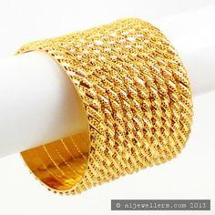 22ct Indian Gold Bangles Set (1)
