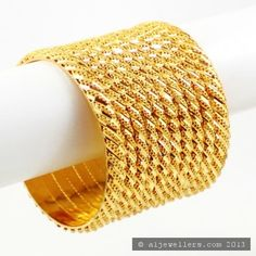 22ct Indian Gold Bangles Set (1)
