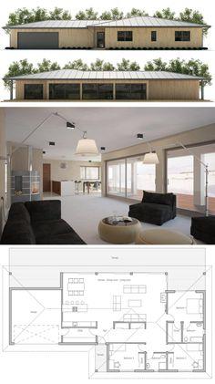Les 1183 Meilleures Images Du Tableau Plans De Maisons Sur Pinterest