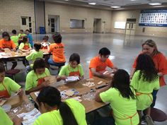 Kids Workshop at the National Guard in April