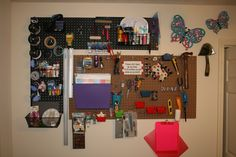 Is there such a thing as too much pegboard?
