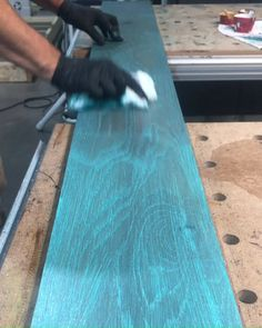 Our Hardwax Oil wood finish comes in 55 different colors that can all be mixed for endless color possibilities! What would you call this color? Woodworking Techniques, Woodworking Projects Diy, Diy Wood Projects, Woodworking Shop, Wood Crafts, Woodworking Videos, Distressed Wood Furniture, Painted Furniture, Distressed Painting