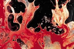 Semen and Blood III by Andres Serrano (this painting was sold for $21,192.00 at christies)