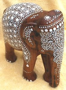 African Forest Elephant, Asian Elephant, Elephant Love, Elephant Art, Elephas Maximus, Elephant Home Decor, Hand Carved, Hand Painted, Elephant Illustration