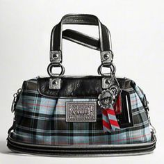 Coach Poppy tartan handbag Sitting in my closet right now