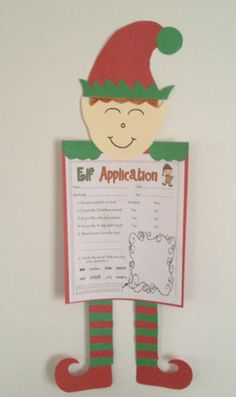 Apply to be one of Santa's elves