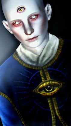 The third eye by Moonskin93 - Sims 3 Downloads CC Caboodle