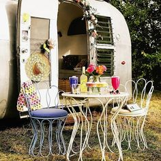 Hervorragend Were Definitely Keen To Try Glamping This Summer! Metal Furniture Is Great  For Not Obstructing Views Or Space In Small Gardens (John Lewis).