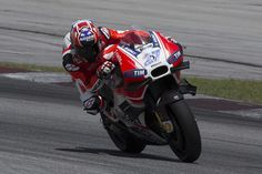 Stoner sees 'potential' in Ducati MotoGP bike after first test 2016 - Bikesport News