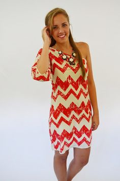 On the #Chevron Track #Dress