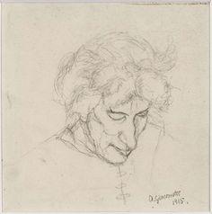 Fondation Giacometti - Découvrir l'œuvre - Alberto Giacometti Database - Peintures