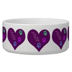 Make your pet's bowl with your love.