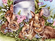 Snuggle Bunnies by Janet Skiles