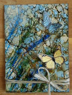 gorgeous use of mixed media!