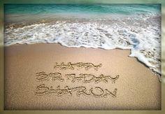 beach happy birthday