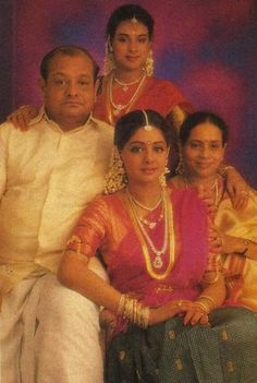#Sridevi with her family. For more pics click http://bit.ly/BD_RarePics