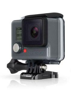 GoPro's Hero+ has a built-in touchscreen.