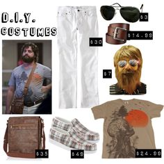 DIY: Alan from the Hangover costume guide #Halloween