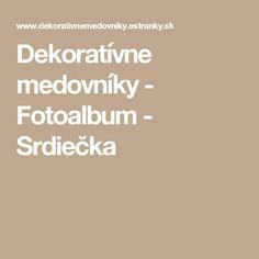 Dekoratívne medovníky - Fotoalbum - Srdiečka