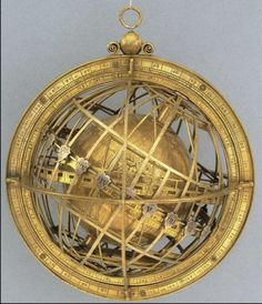 The Jagiellonian Clock, incorporating the Jagiellonian Globe, c.1510. The Globe…