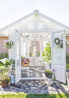 Backyard Greenhouse Shed . Backyard Greenhouse Shed . 32 Affordable Garden Shed Plans Ideas for You Shed Conversion Ideas, Backyard Greenhouse, Greenhouse Ideas, Small Greenhouse, Portable Greenhouse, Backyard Sheds, Pergola Ideas, Window Greenhouse, Homemade Greenhouse