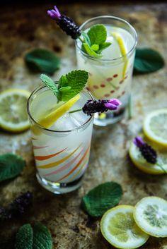 Honey Rum Mint Lemonade