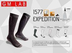 Calza GM 1577 Expedition. La calza termica per eccellenza, super resistente e caldissima per le spedizioni d'alta quota e le lunghe permanenze in ambienti freddi. #Expedition #socks More info: http://www.calzegm.com/product/1577-expedition-merino/
