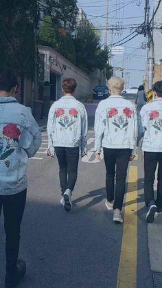 Jaehyung woosung black rose in 2019 rose rose - Boy with rose wallpaper ...