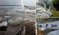 Living in a Bubble: The luxury interior designed pod