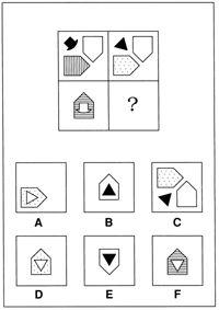 Non-verbal reasoning test